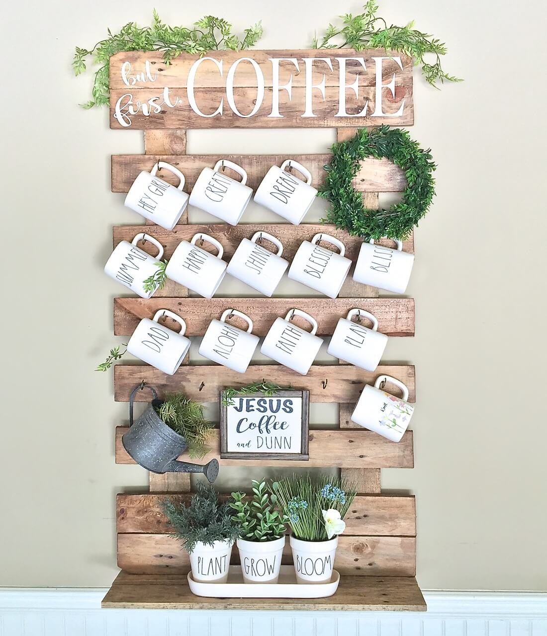 Diy coffee mug holder diy do it your self for Mug racks ideas