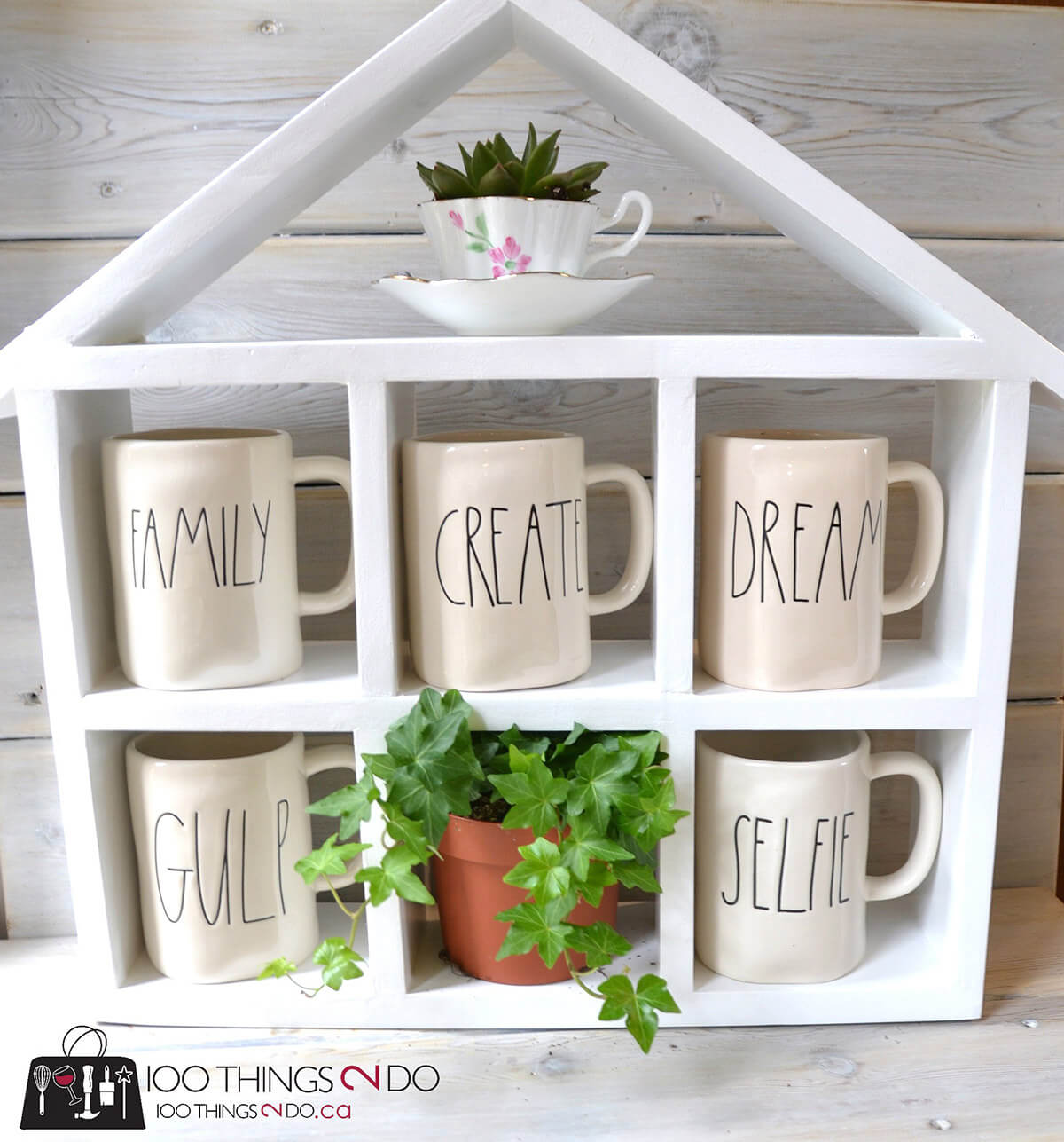 Little House for Coffee Mugs