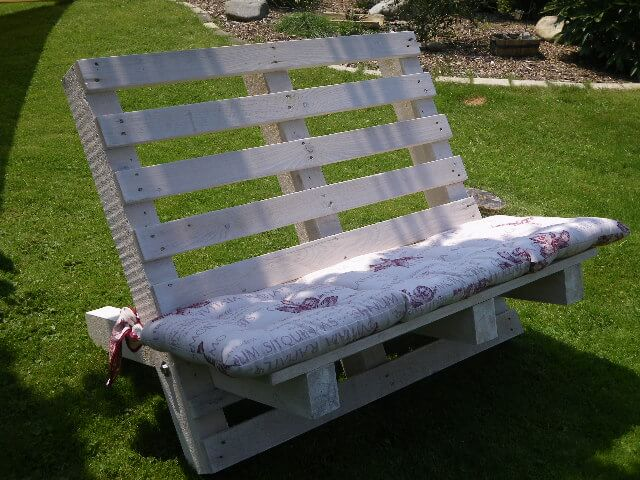 Hand Assembled Picket-Fence Bench