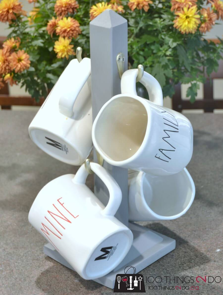 26 best diy coffee mug holder ideas and projects for 2018 for Mug racks ideas
