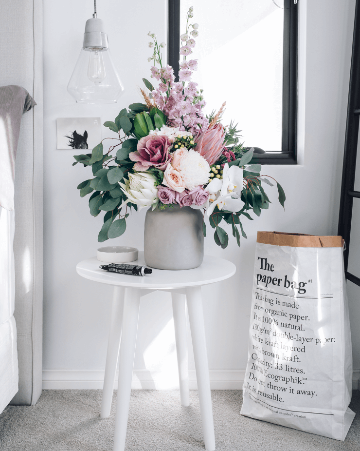 Stunning Floral Vintage Jug Table Arrangement