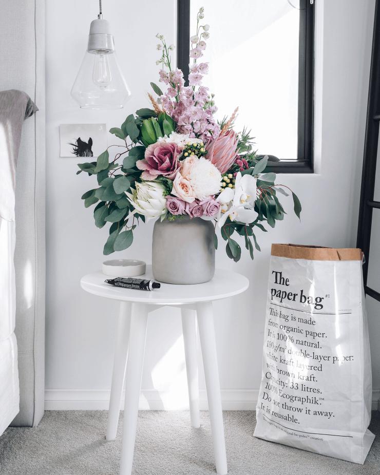 Stunning Floral Vintage Jug Table Arrangement