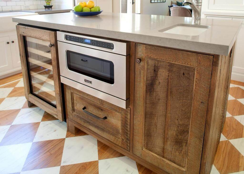 Multi-use Butcher Block in Walnut Finish