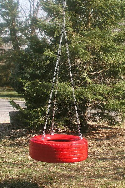 A Fun and Relaxing Tire Swing