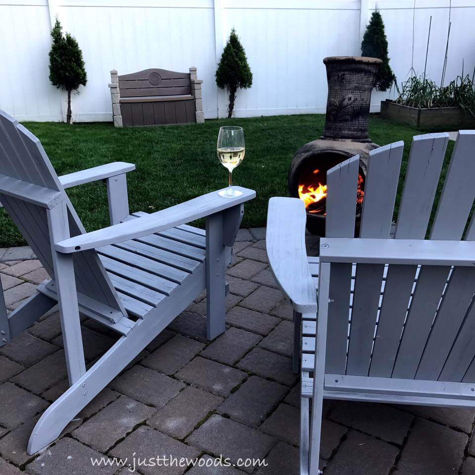 Curve-Backed Adirondack Chairs