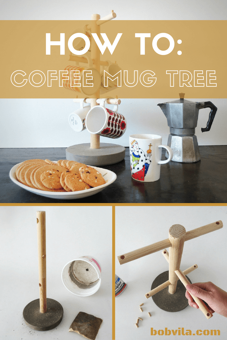 Super Easy DIY Mug Tree
