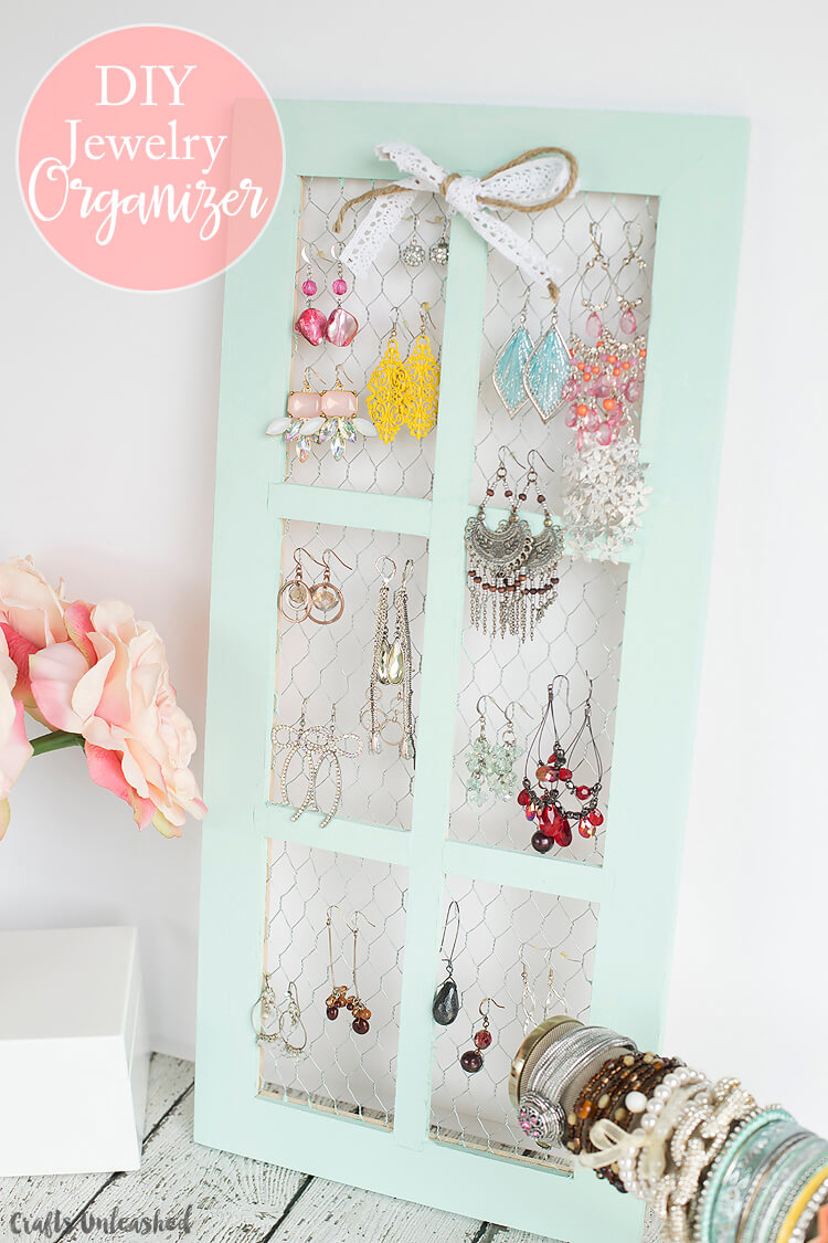 Make This DIY Jewelry Organizer