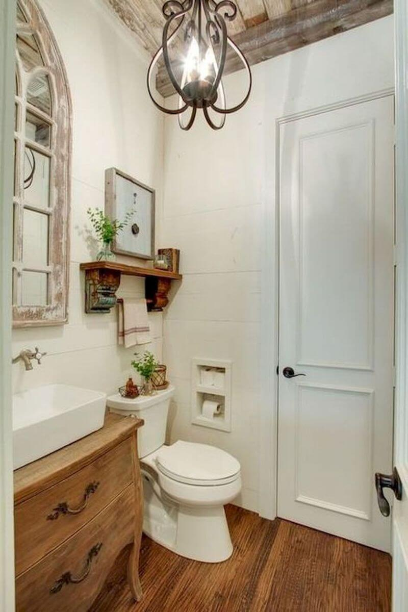 30 Best Cottage Style Bathroom Ideas and Designs for 2018