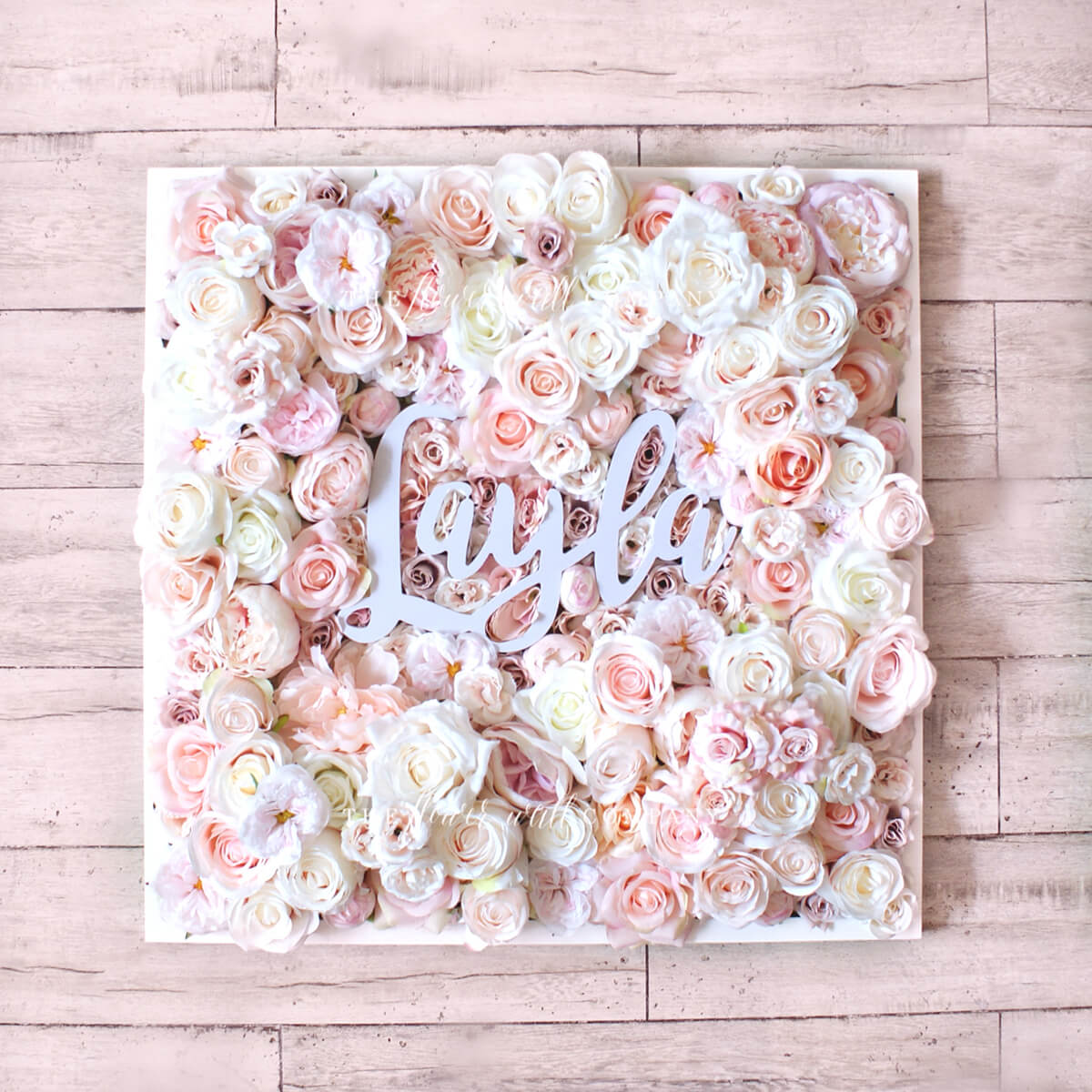 Beautiful Rose Personalized Framed Shadowbox