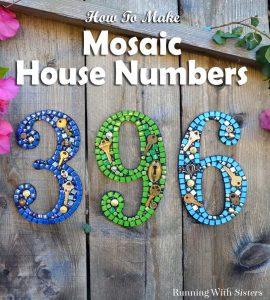 Creative House Numbers With Keys And Locks Homebnc
