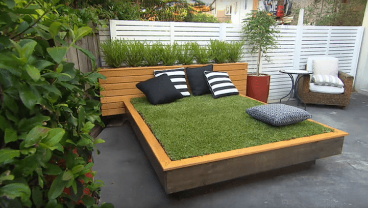 Bed Of Grass Outdoor Billet