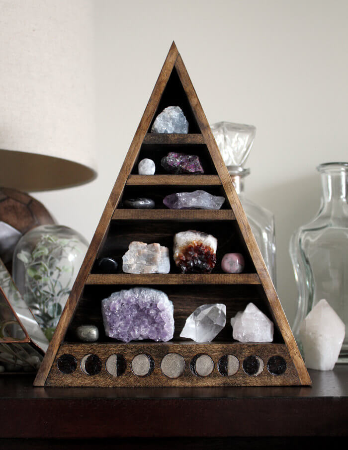 Wood Pyramid of Stones
