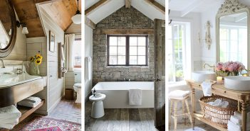 Cottage Style Bathroom Designs