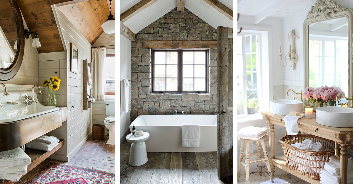 30 Wonderful Cottage Style Bathroom Ideas for a Charming and Relaxing Space