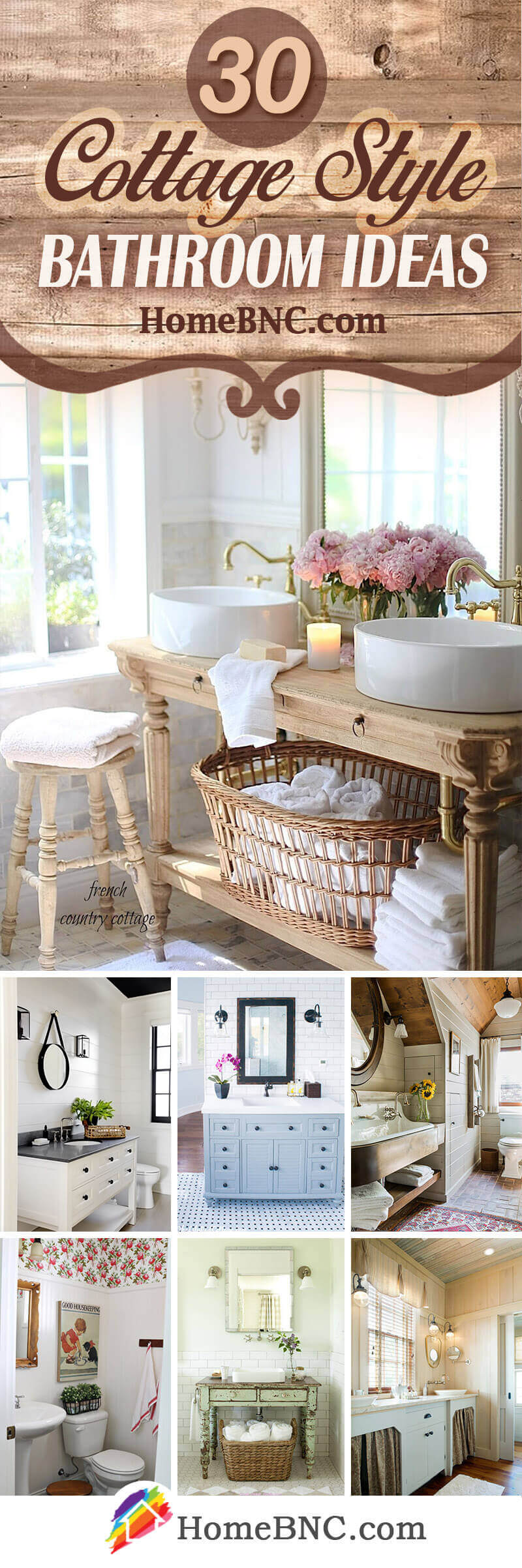 Cottage Style Bathroom Ideas
