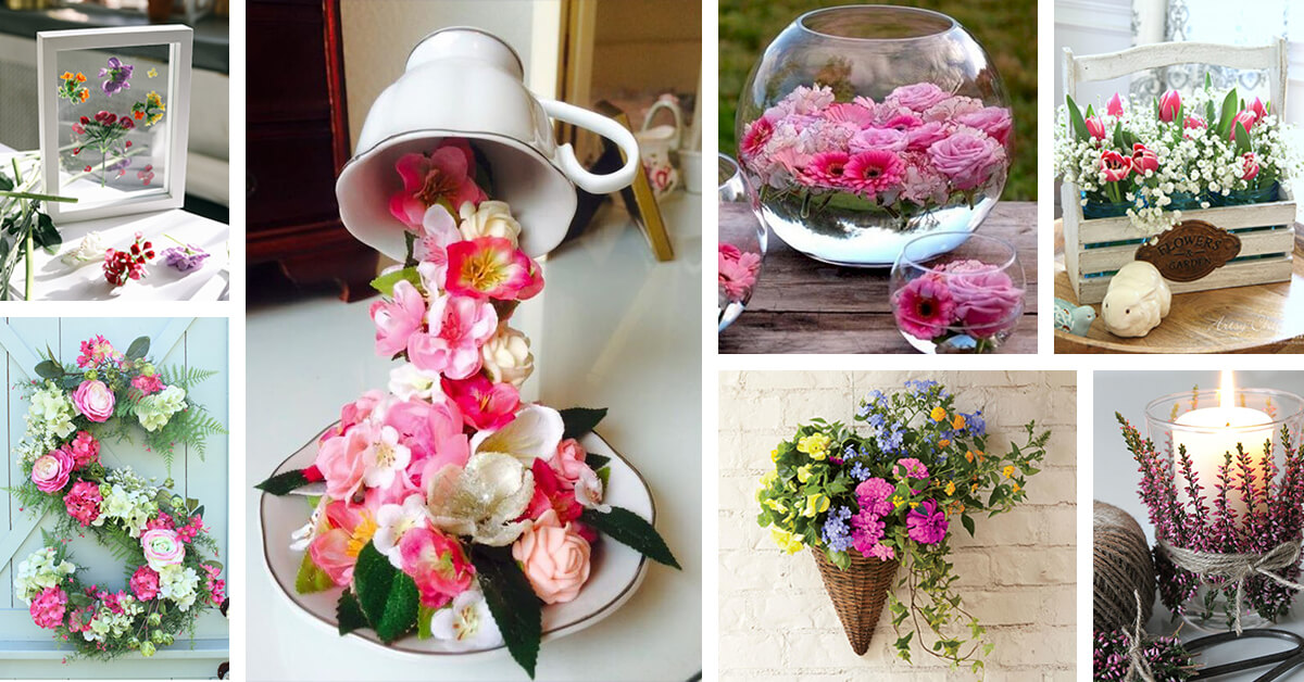 27 best creative flower decoration ideas and designs for 2019 rh homebnc com