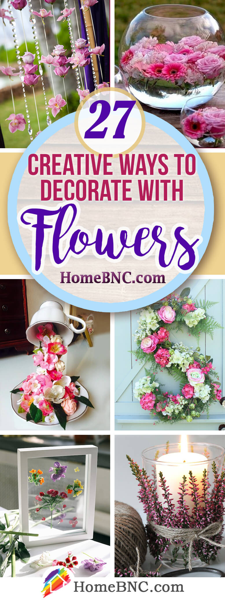 27 Best Creative Flower Decoration Ideas And Designs For 2019