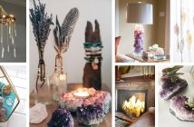 Decorating Ideas with Crystals and Stones
