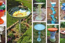 DIY Bird Bath Projects