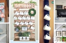 DIY Coffee Mug Holder Ideas
