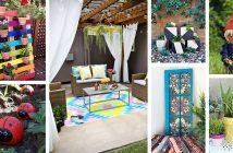 DIY Painted Garden Decoration Ideas
