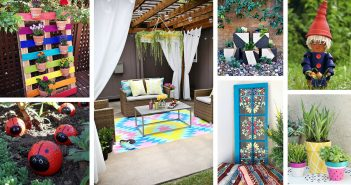 DIY Painted Garden Decoration Ideas