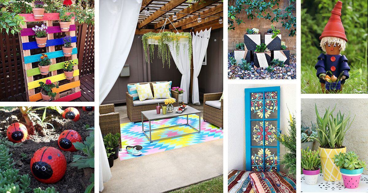 29 Best DIY Painted Garden Decoration Ideas and Designs ...