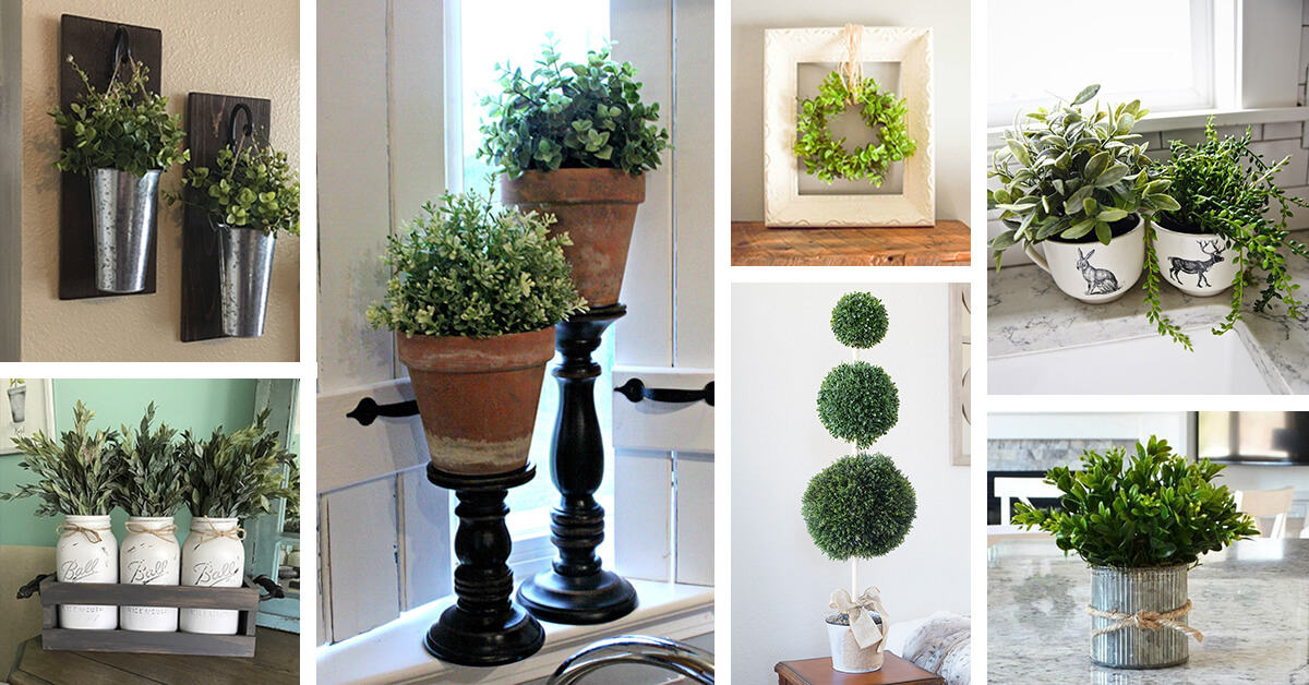 36 best farmhouse plant decor ideas and designs for 2019 - Indoor plant decor ideas ...