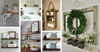 Farmhouse Shelf Decorations