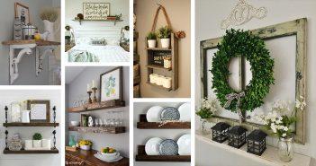 Farmhouse Shelf Decorations