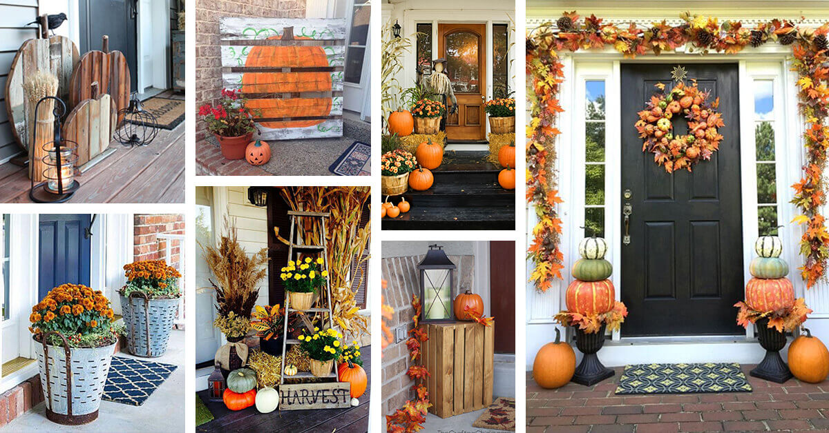 25 Best Fall Front Door Decor Ideas And Designs For 2021