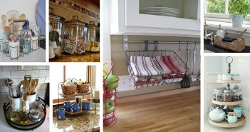 Kitchen Counter top Organization