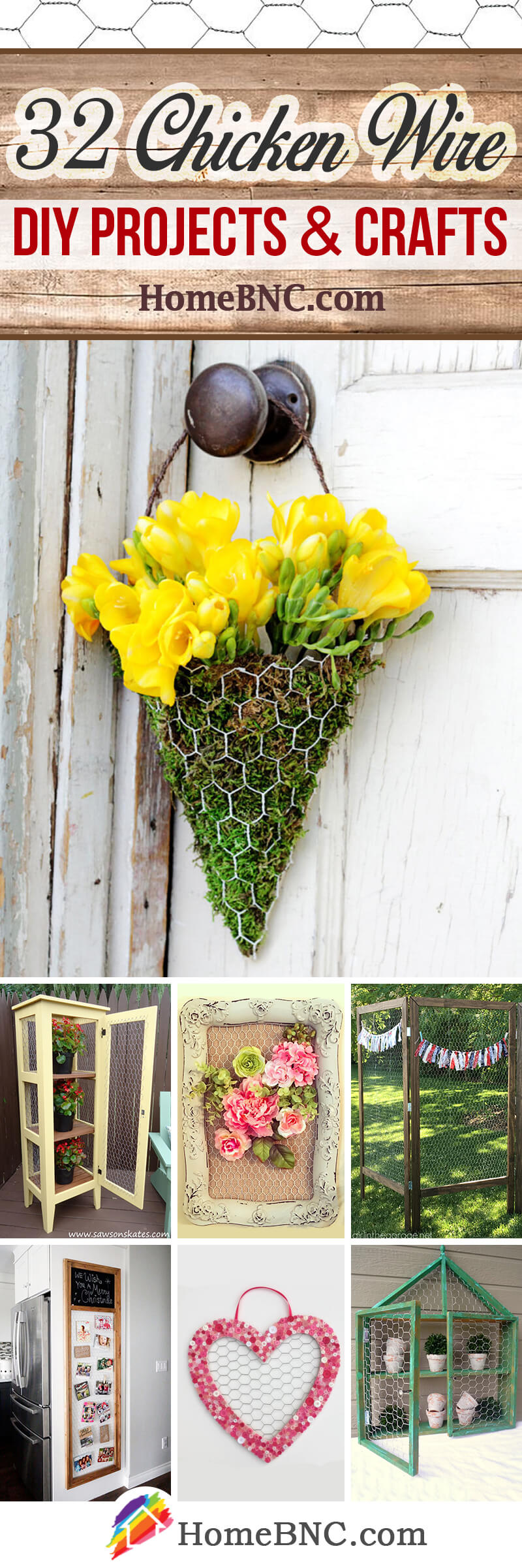 Chicken Wire DIY Projects