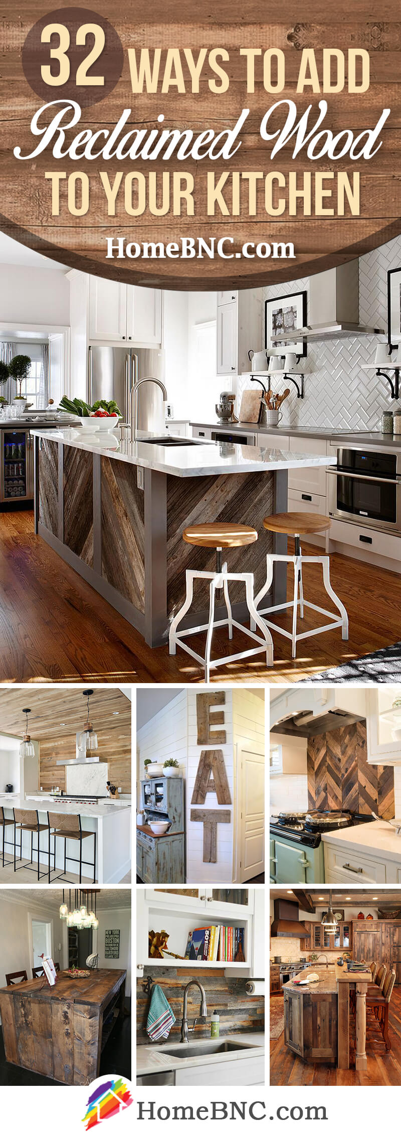 Reclaimed Wood Kitchen Designs
