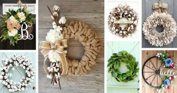 Rustic Farmhouse Wreath Designs