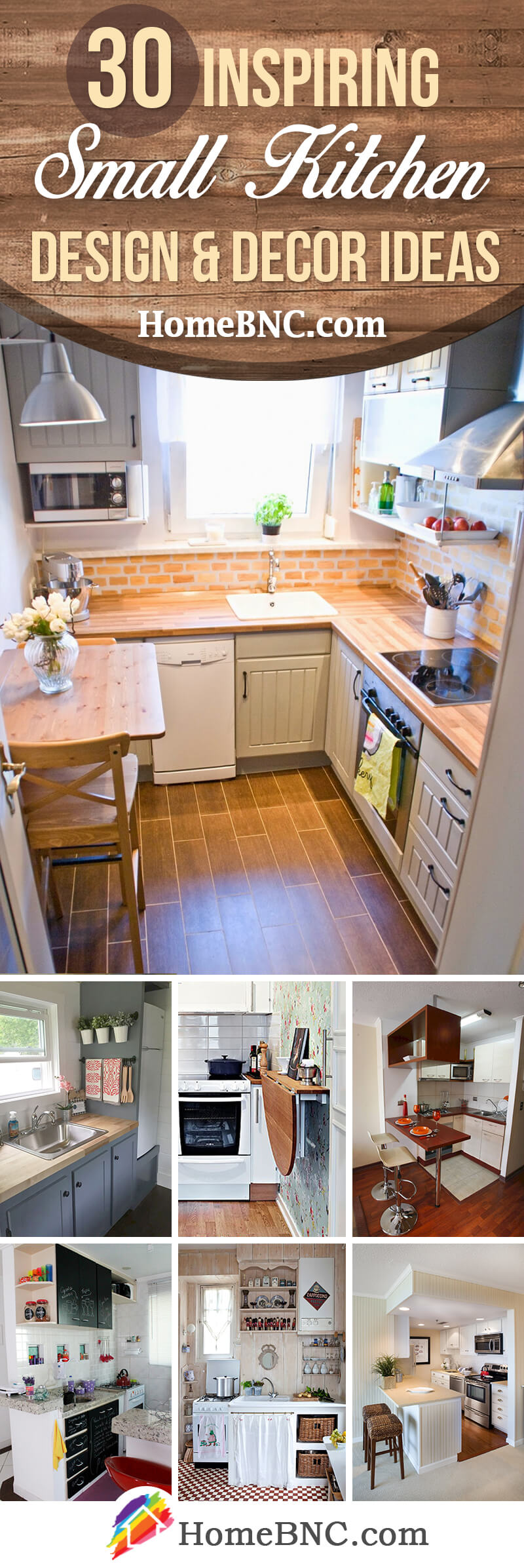 8 Best Small Kitchen Decor and Design Ideas for 8