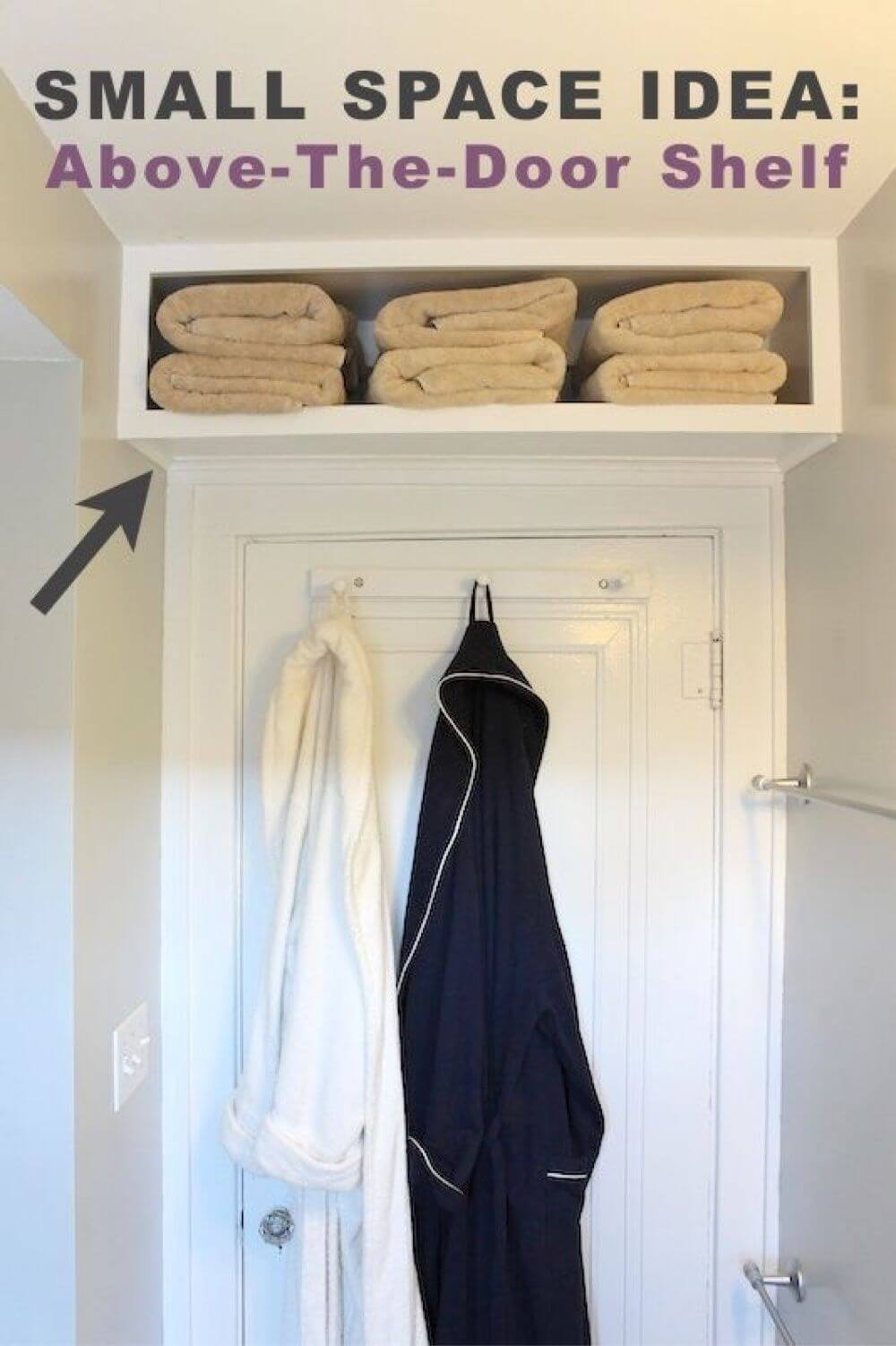 Over-the-Door Storage Shelf