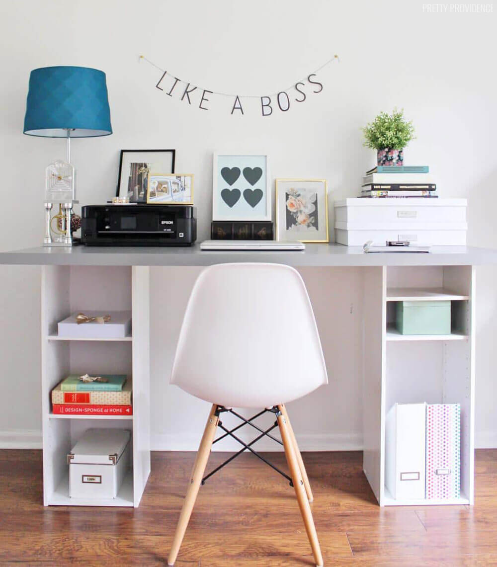 Craft Ideas For Your Desk: 25+ Best DIY Desk Ideas And Designs For 2019