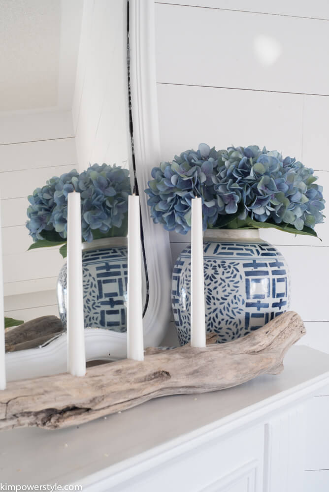 Rustic Driftwood Multiple Candle Holder