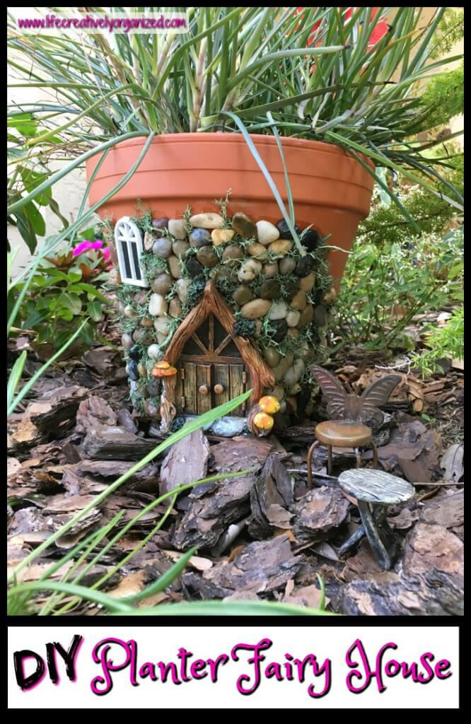 Create a Fairy House with Stones
