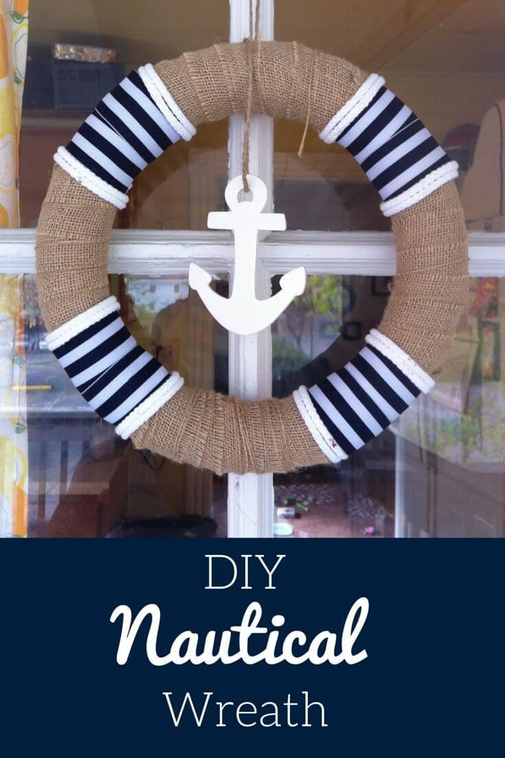 Wrap a Wreath in Burlap