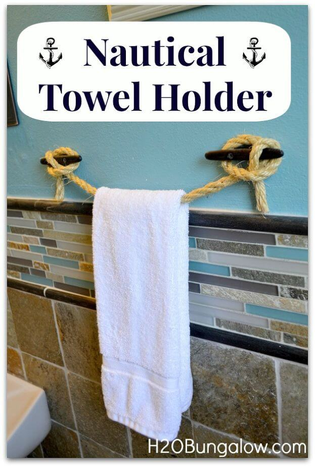 Clever Idea for a Towel Holder