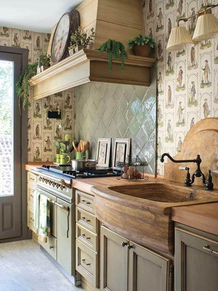 26 Farmhouse Kitchen Sink Ideas and Designs for 2020 on Kitchen Sink Ideas  id=57560