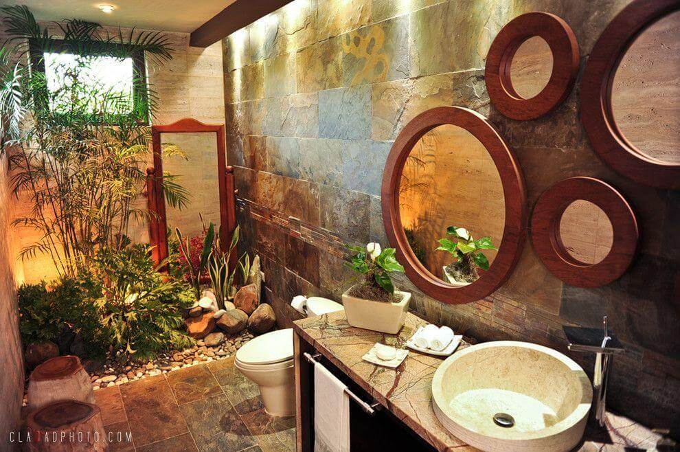 Bring the Outdoors Into Your Bathroom