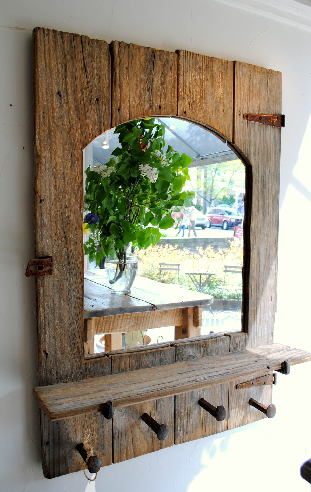 kitchen ideas for old farmhouse with 13 Farmhouse Mirror Ideas Homebnc on Modern Farmhouse Dining Room also A1fa744a E7fc 4b43 B619 04da895b365c further 13 Farmhouse Mirror Ideas Homebnc as well La Cuisine Style C agne Decors Chaleureux Vintage additionally Kitchen Table With Built In Bench Stone Fire Pit Designs Patio Contemporary With Bar Bbq Concrete Deck Together Captivating Theme.