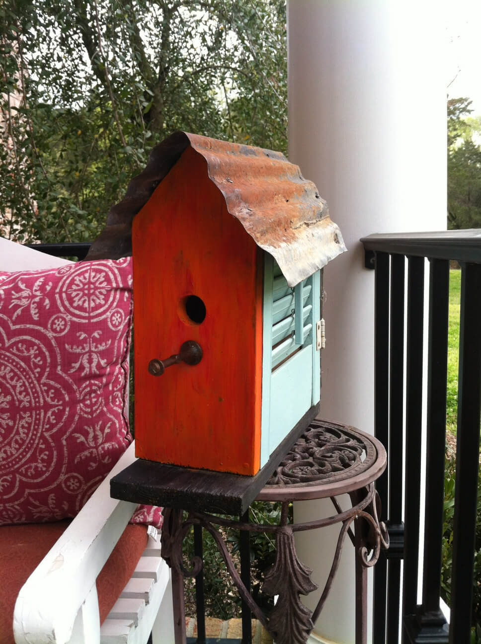 Build This Cute Shutter Birdhouse