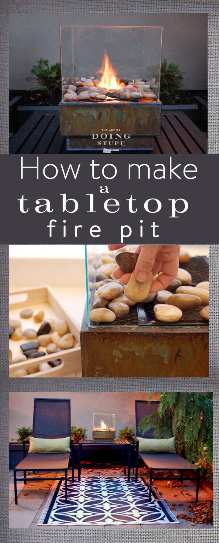 Make Your Own Tiny Fire Pit