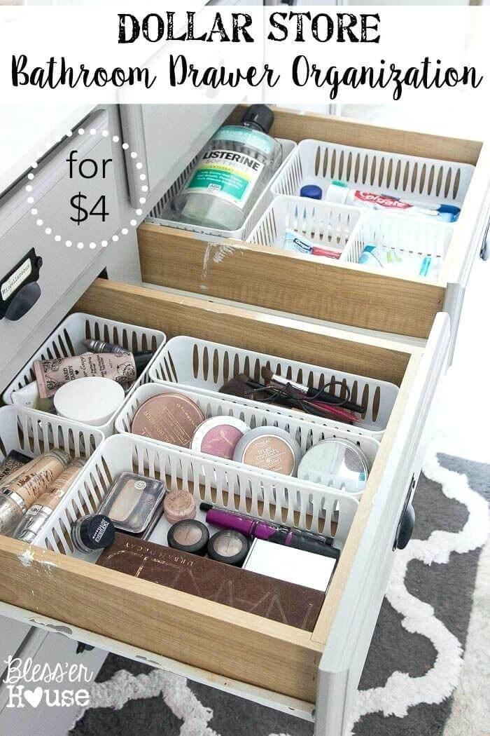 Five Dollar Drawer Organizing Makeover