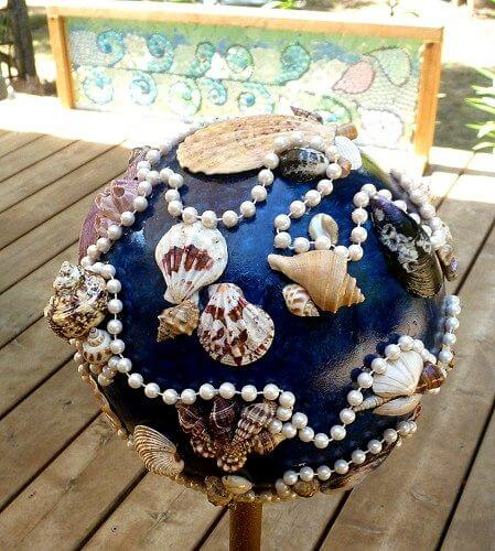 A Seashell Fantasy with Pearls