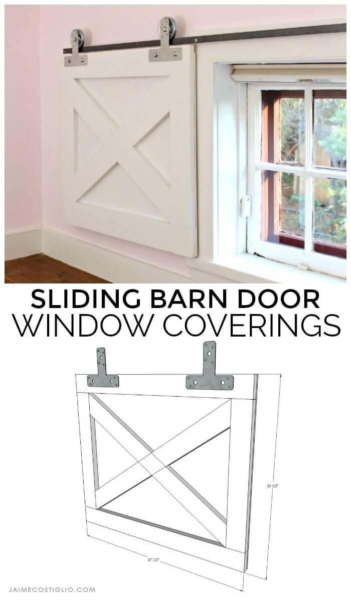 Cover a Window with a Sliding Door